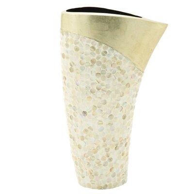 Ceramic Shell Vase 50627