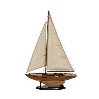 Wood Sailing Ship Model Boat