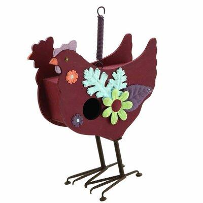 Hen Birdhouse Figurine 93705