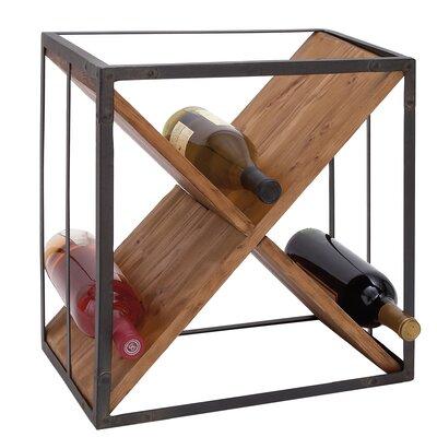 9 Bottle Tabletop Wine Rack