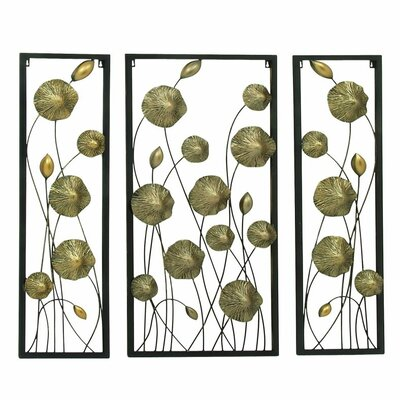 3 Piece Metal Wall Décor Set