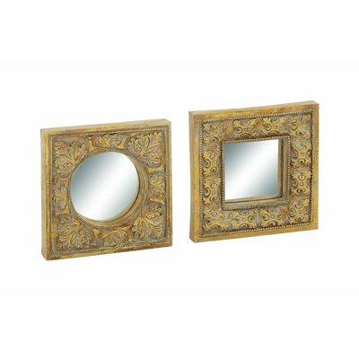 2 Piece Plastic Wall Mirror Set 54867