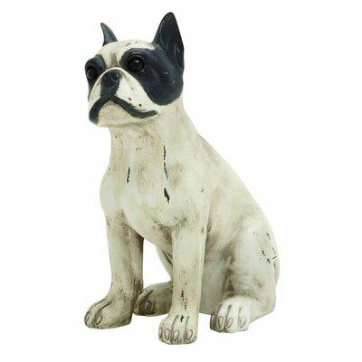Plastic Sitting Dog Figurine 78845
