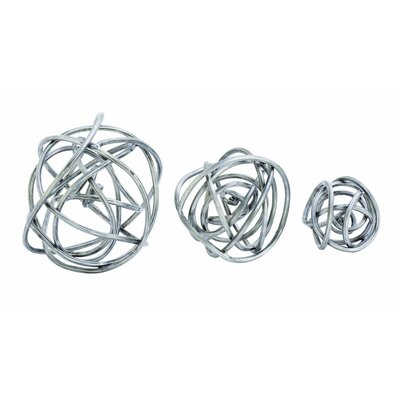 Orb 3 Piece Sculpture Set