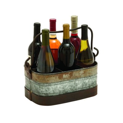 6 Bottle Tabletop Wine Bottle Rack