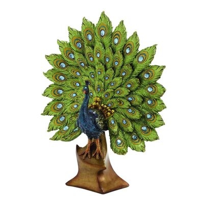 Polystone Peacock Figurine 54941