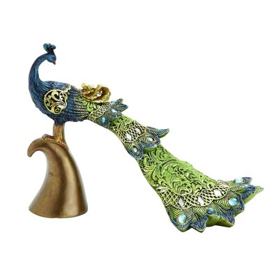 Polystone Peacock Figurine 54937