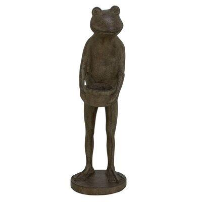 Polystone Frog Figurine 38237