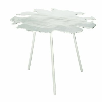 Aluminum End Table Finish: Silver
