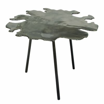Aluminum End Table Finish: Gray
