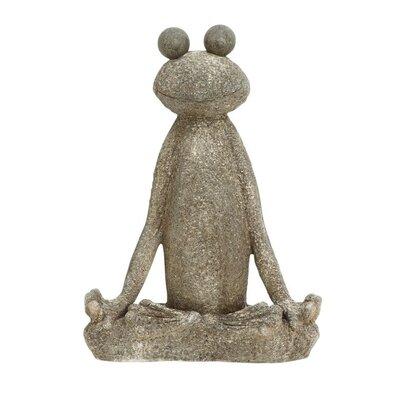 Polystone Frog Figurine 87992