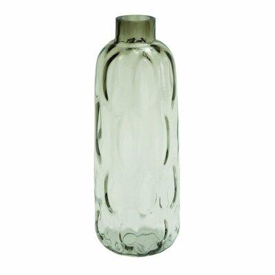 Glass Table Vase Size: 19 H x 10 W x 10 D