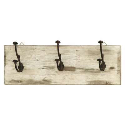 Wood Metal Wall Hook