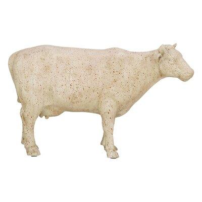 Polystone Cow Figurine 38231