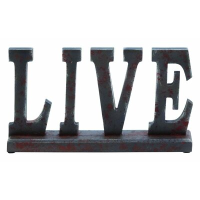 Table Top Live Letter Block