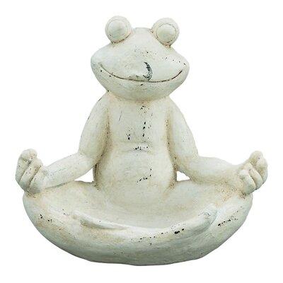 Polystone Frog Figurine 74811