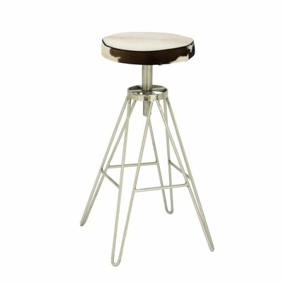31 Bar Stool Upholstery Color: Black