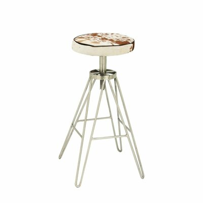 31 Bar Stool Upholstery Color: Brown