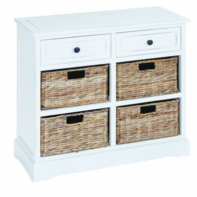 2 Drawer Accent Chest Finish: White