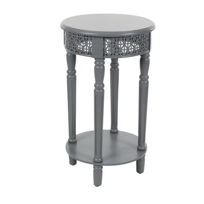 Wood End Table Finish: Gray
