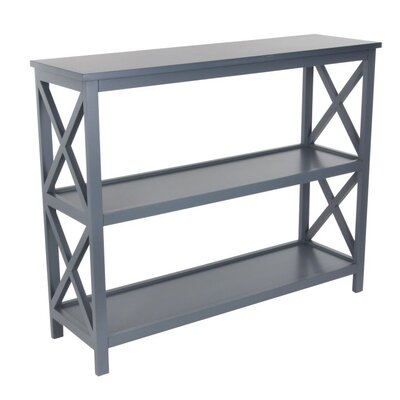 Wood Console Table Finish: Gray