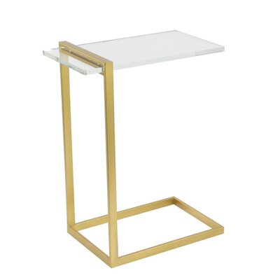 Metal/Acrylic End Table