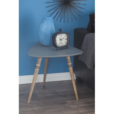 Wood End Table Color: Black