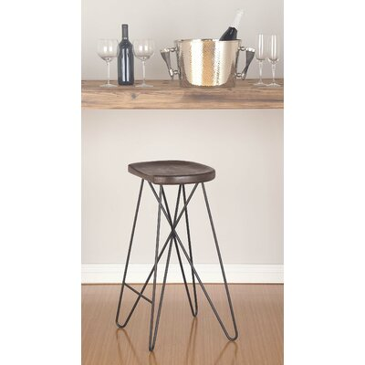 29 Bar Stool Finish: Brown/Black