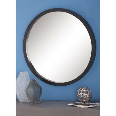 Samson Wood Round Wall Mirror