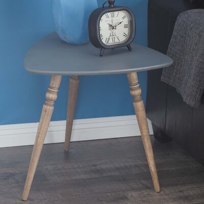 Wood End Table Finish: Black
