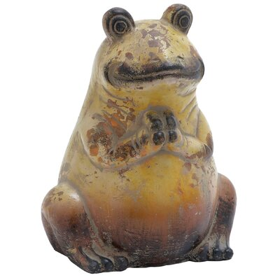 Ceramic Frog Figurine 64862