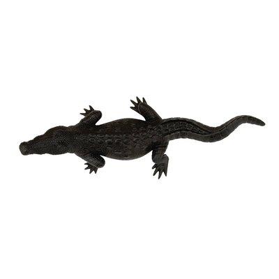 Polystone Crocodile Figurine