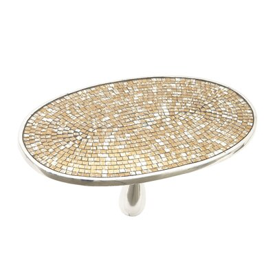 Glass Mosaic End Table