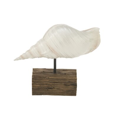 Polystone Shell Sculpture
