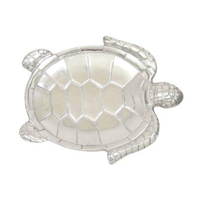 Aluminum Turtle 2 Piece Serving Tray Set