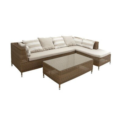 2 Piece Sectional Seating Group with Cushion