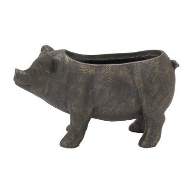 Pig Ceramic Statue Planter