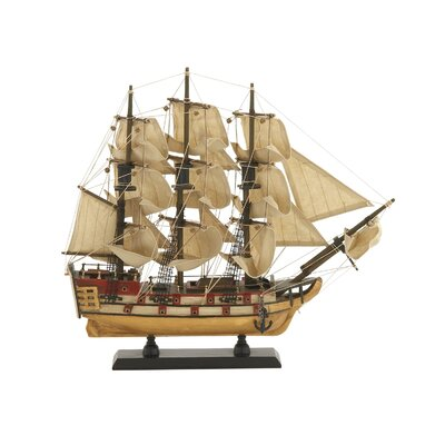 Wood Sail Model Boat