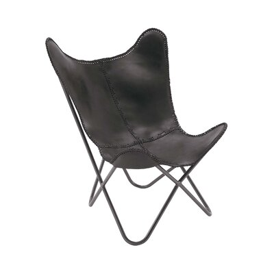 Lounge Chair Color: Black