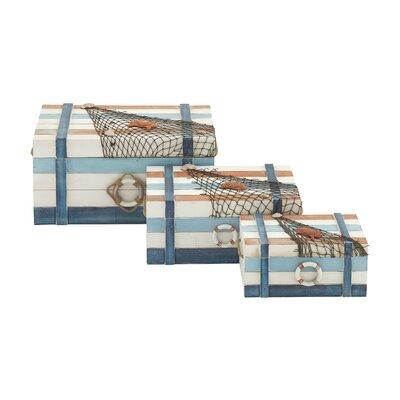 3 Piece Wood Box Set