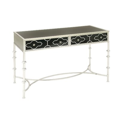 Console Table Finish: Silver