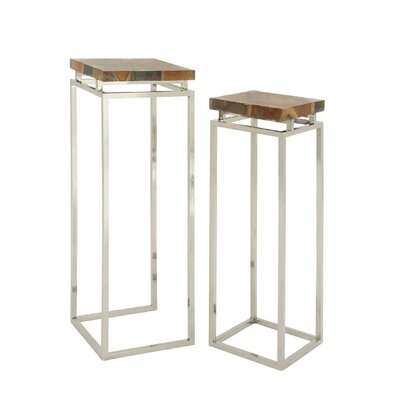 2 Piece End Table Set