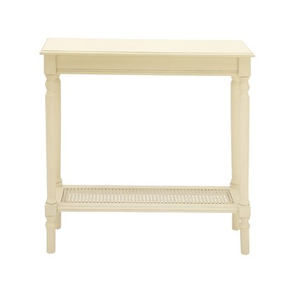 Console Table Finish: Cream
