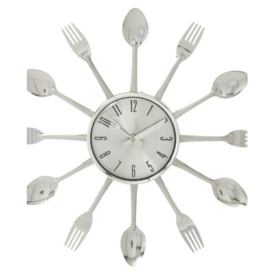 15 Metal Kitchen Wall Clock