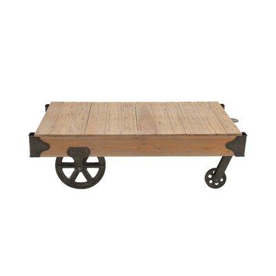 Loft Wood Utility Cart / Coffee Table
