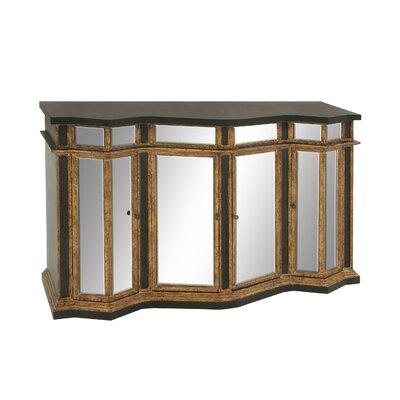 Wood Mirror Sideboard