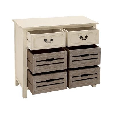 2 Drawer Wood Dresser