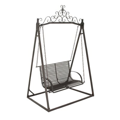 Metal Garden Swing with Stand