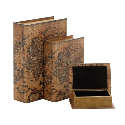 3 Piece Wood Box Set