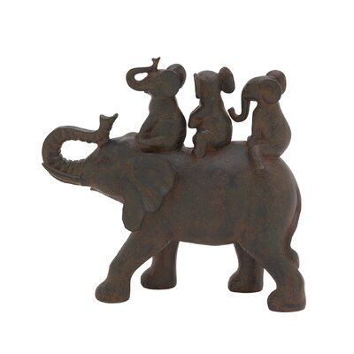 Elephant Family Figurine 44780